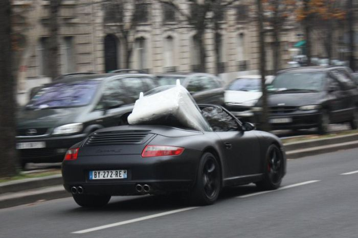 Another Use of Porsche 997 Carrera S Convertible (4 pics)