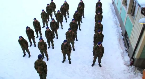 Meanwhile in Norwegian Army