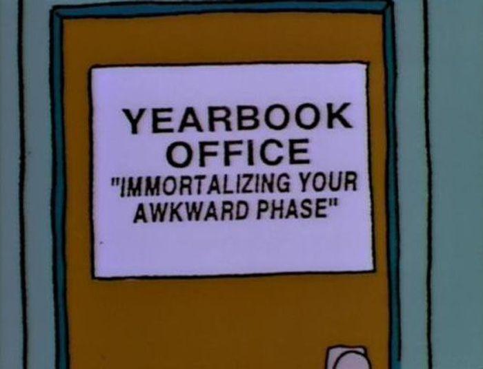 Carteles graciosos de Los Simpsons  parte 1
