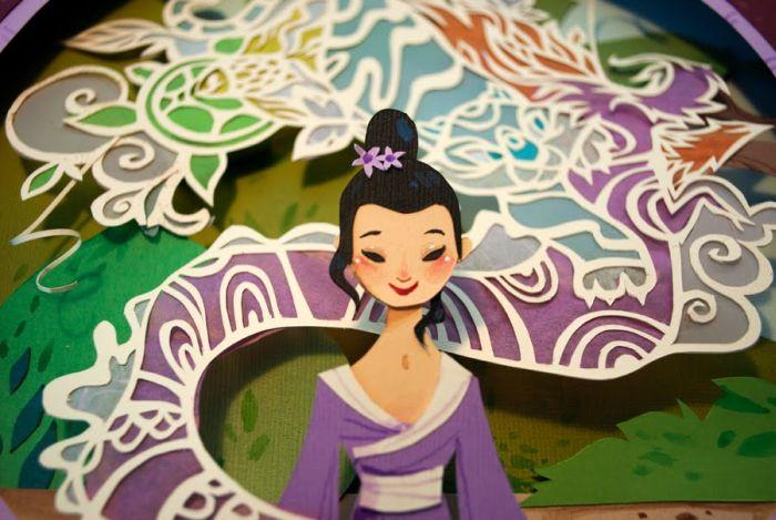 Paper Artworks (23 pics)
