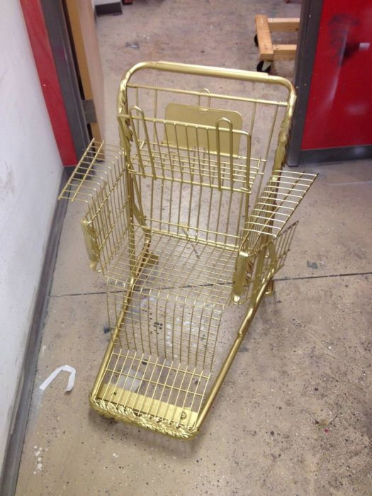 Shopping Cart Throne (11 pics)