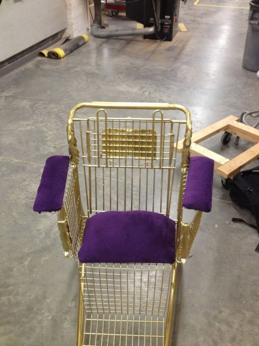 Shopping Cart Throne (11 pics)