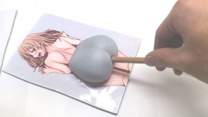 Butt Pencil Sharpener (6 pics)