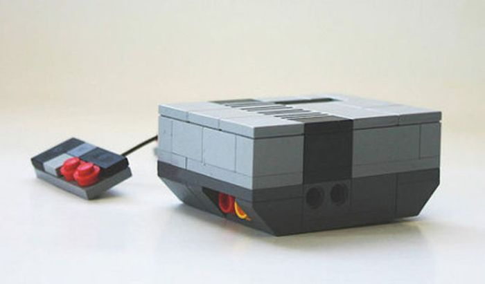 Great Things Made Out Of Lego (66 pics)