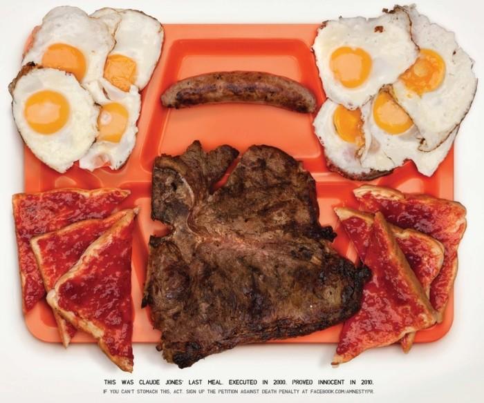 Last Meals Of Executed Innocent Men (4 pics)
