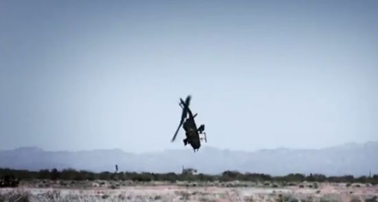 Top Gear TV Show Combat Helicopter Flight Gone Wrong