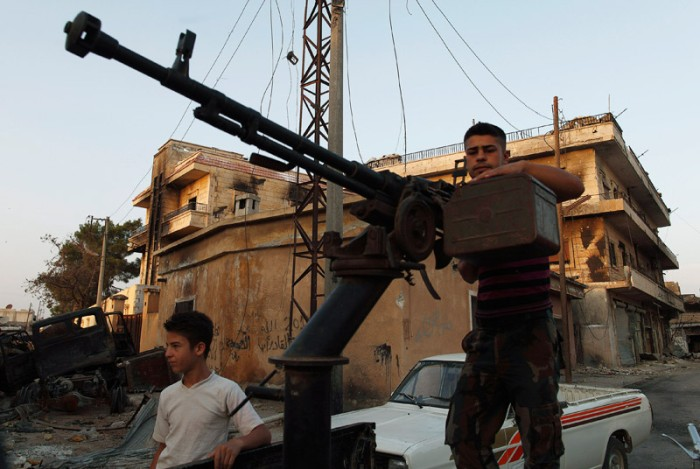 Self-Made Weapons of Rebel Groups (14 pics)