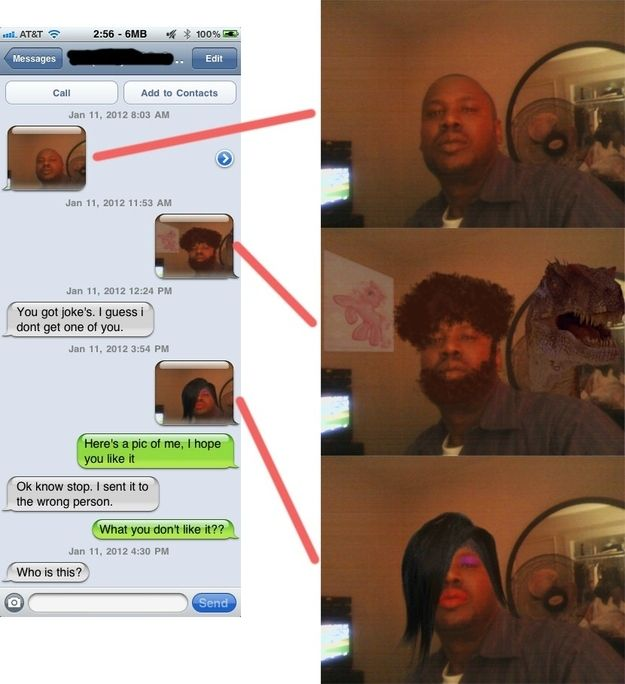 Wrong Number Texts. Part 2 (26 pics)
