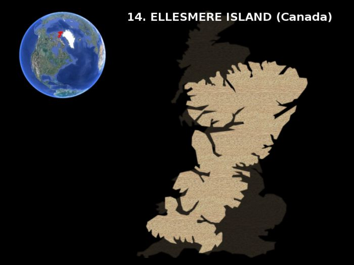 Earth's Largest Islands (15 pics)