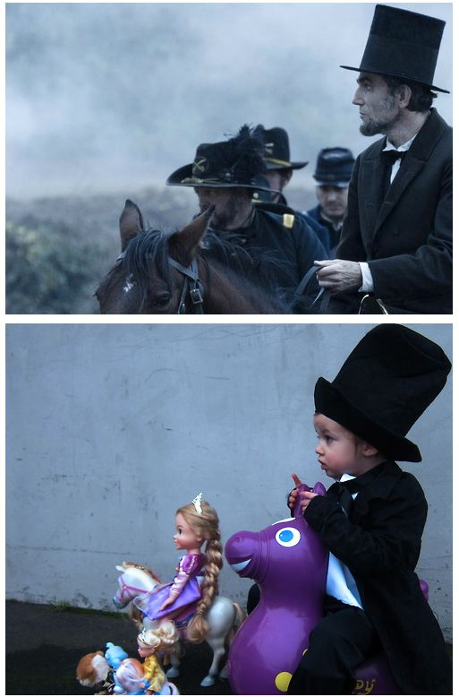 Kid Reenacts Scenes From Oscar-Nominated Films (20 pics)