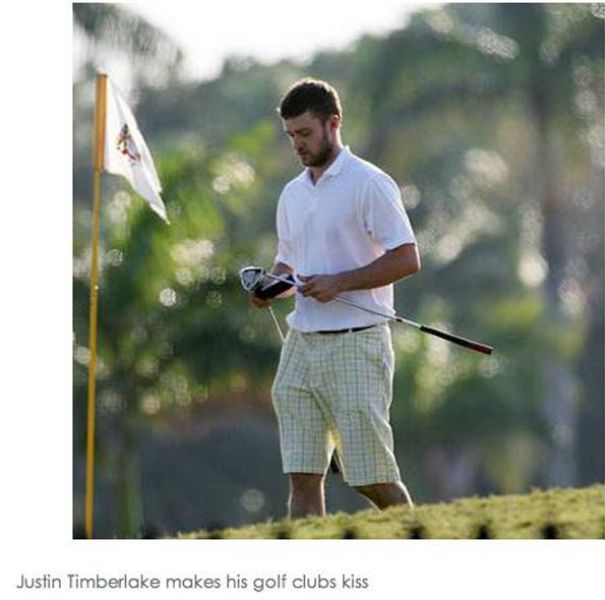 Justin Timberlake Does Things (22 pics)