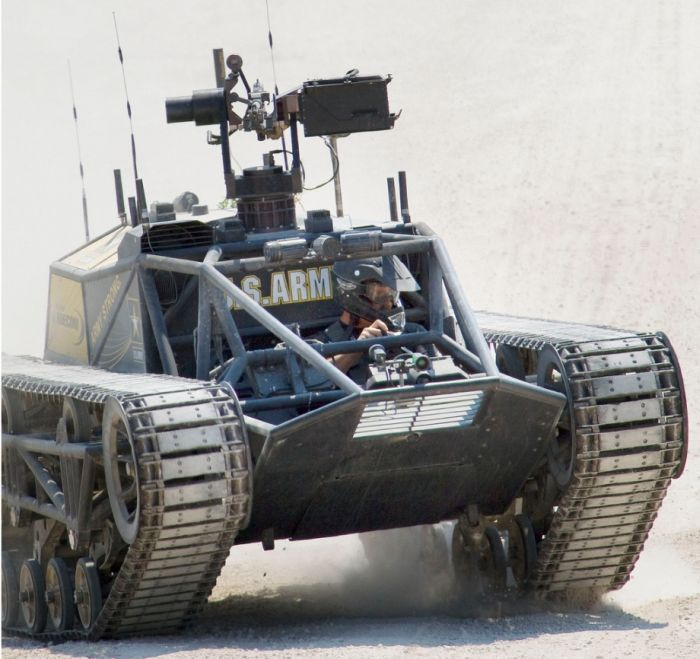 World's Fastest Tracked Vehicle (20 pics)