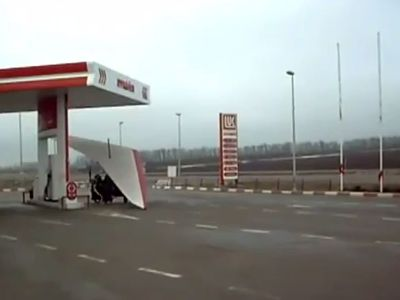 Meanwhile at Russian Gas Station