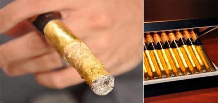 Golden Cigar (7 pics)