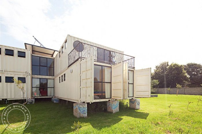 Container House (38 pics)