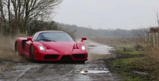 You Would Never Drive Your Ferrari Enzo This Way