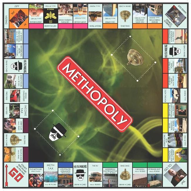 Methopoly: Breaking Bad Monopoly (4 pics)