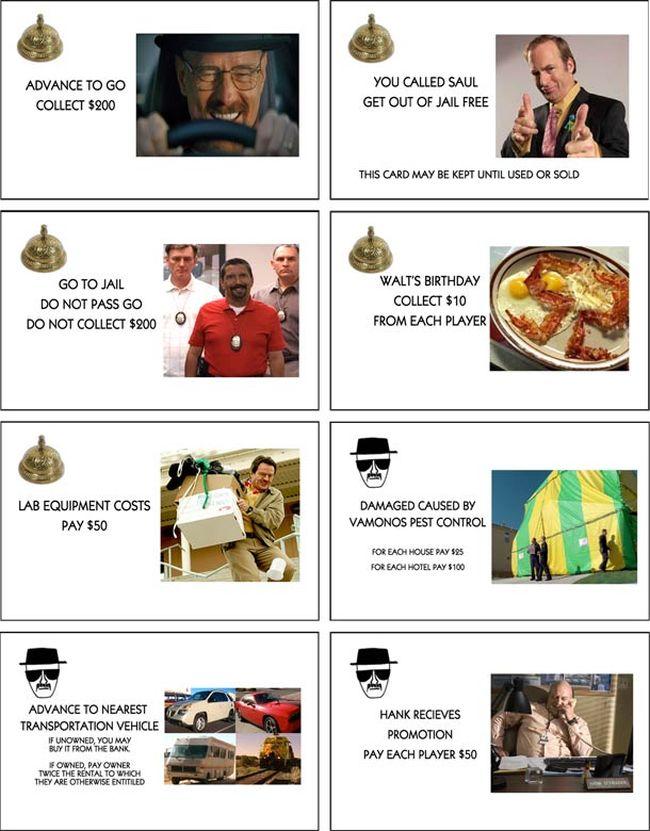 Methopoly: Breaking Bad Monopoly (4 pics)