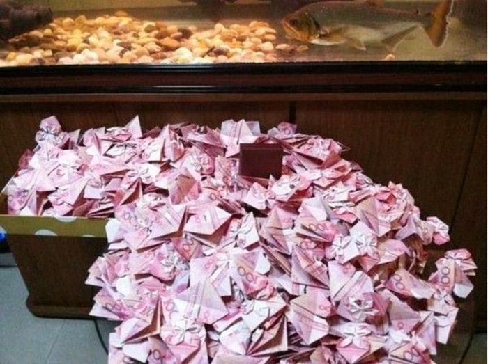 Money Origami (7 pics)