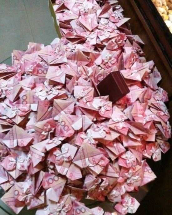 Money Origami (7 pics)