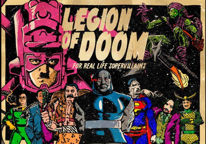 Legion of Doom (19 pics)