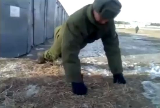 Russian Soldier Superman
