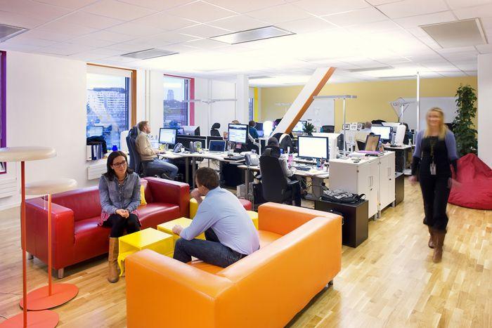 Google Office in Stockholm (28 pics)