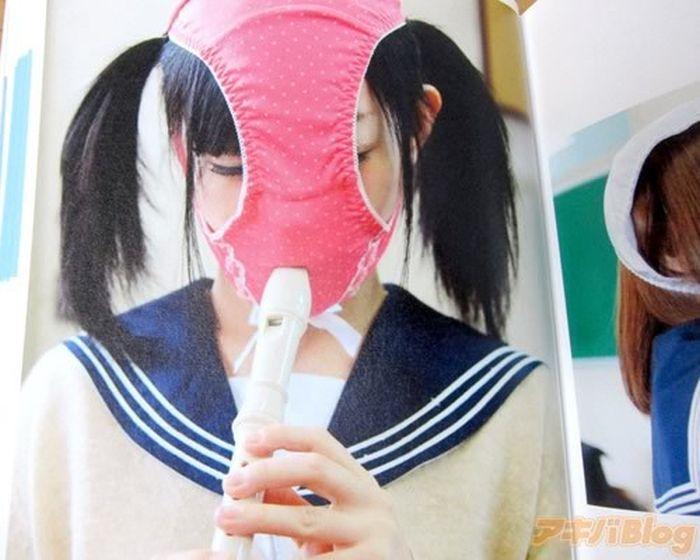Pantyface! New Japanese Fetish (10 pics)