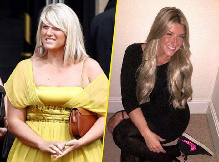 Joanne Beckham, David Beckham's Sister, Then and Now (9 pics)