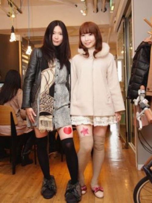Japanese Girls' Legs as a Branding Platform (11 pics)