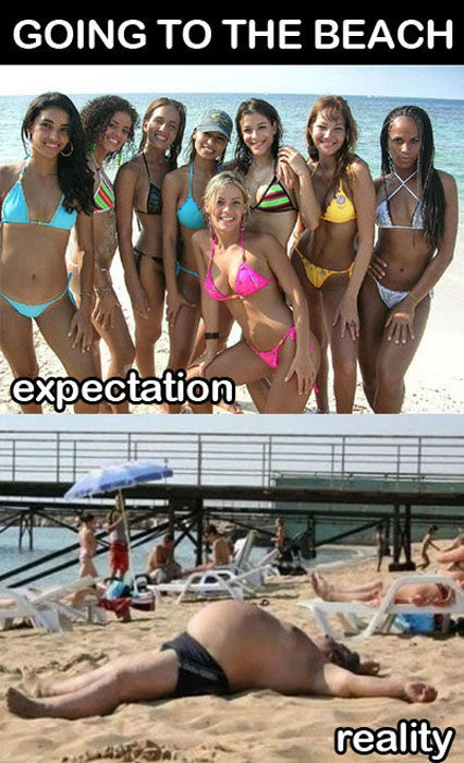 Things That are Better in Your Head than in Real Life (50 pics)