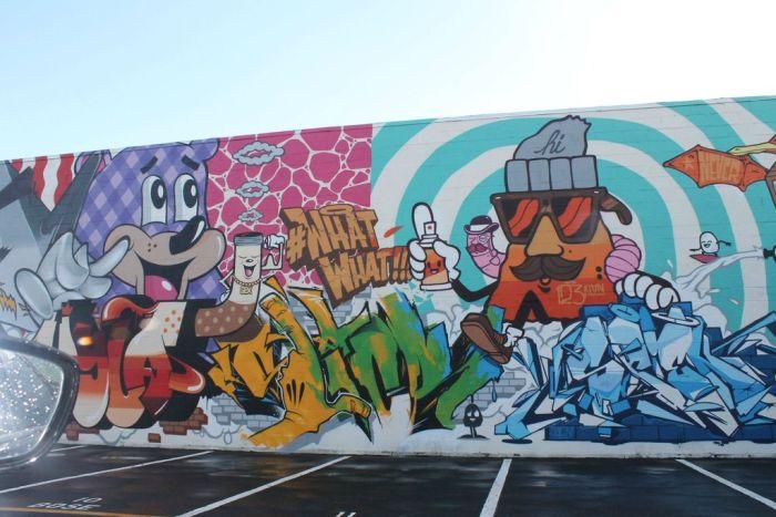Hawaii Pow Wow Graffiti 2013 (48 pics)