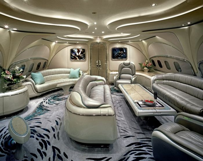 Inside the Most Expensive Private Jets (14 pics)