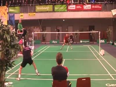 Professional Badminton Match