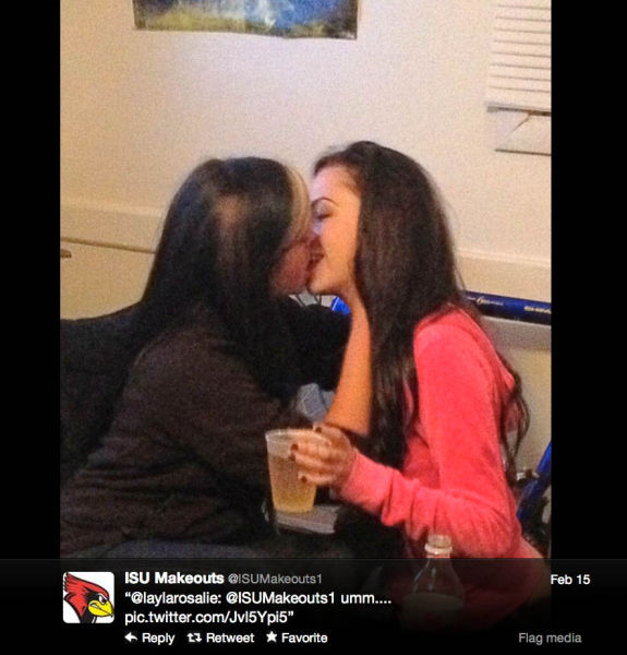 The Best of Twitter's College Make-Outs Pics (55 pics)