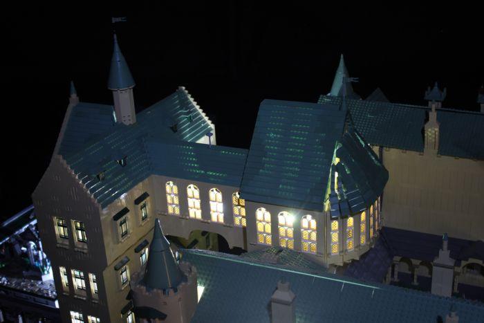 Lego Hogwarts (66 pics)