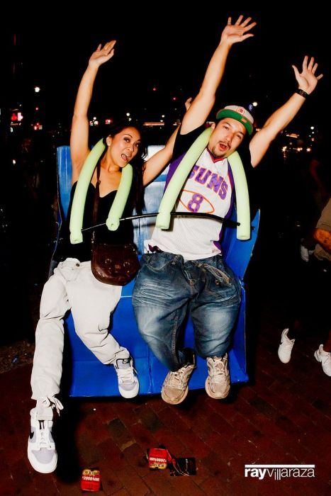 Roller Coaster Сostume (16 pics)
