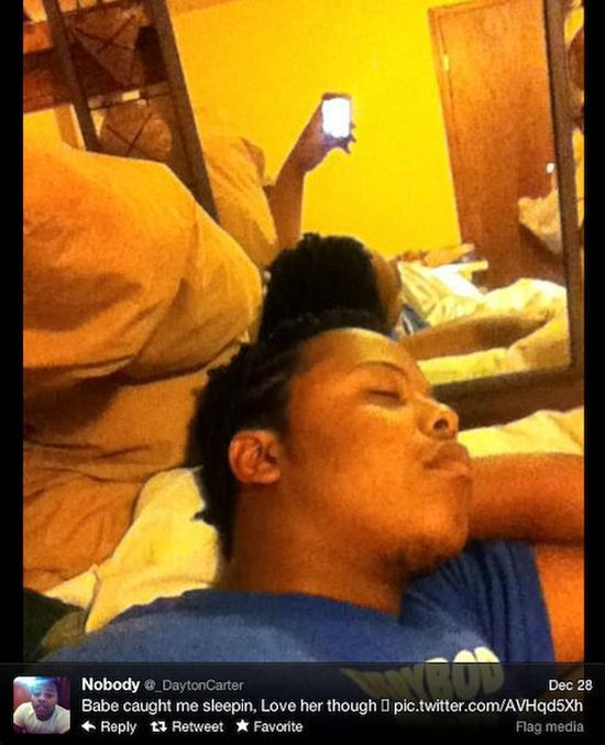 Babe Caught Me Sleeping (12 pics)