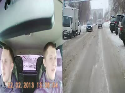 Road Rage Fight