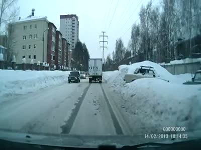 Russian Roads in Winter