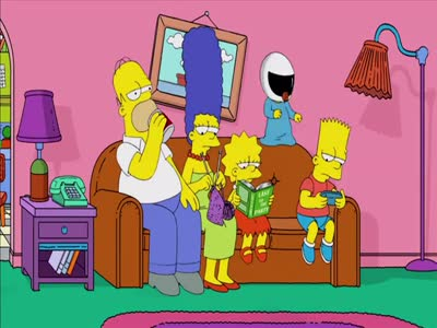 Harlem Shake Simpsons Edition