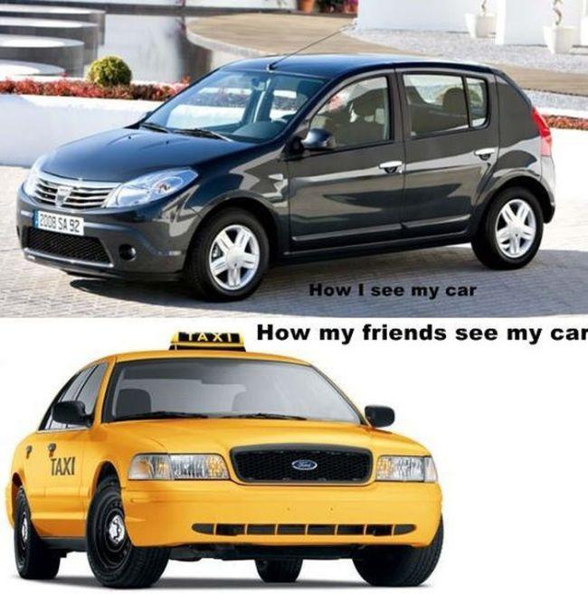 Funny Car-Themed Photos. Part 2 (44 pics)