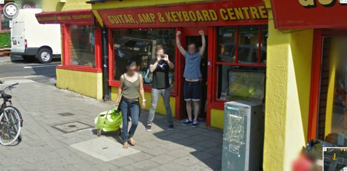 Interesting and Funny Google Street View Images (50 pics)