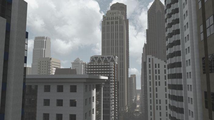 Minecraft City (20 pics)