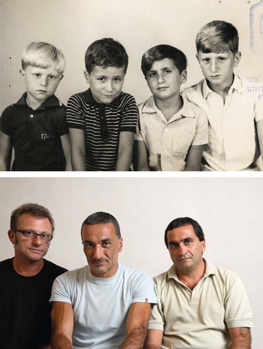 Sad Then and Now Photos (7 pics)