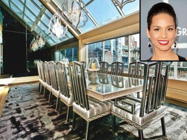 Alicia Keys Has Sold Her Penthouse (16 pics)