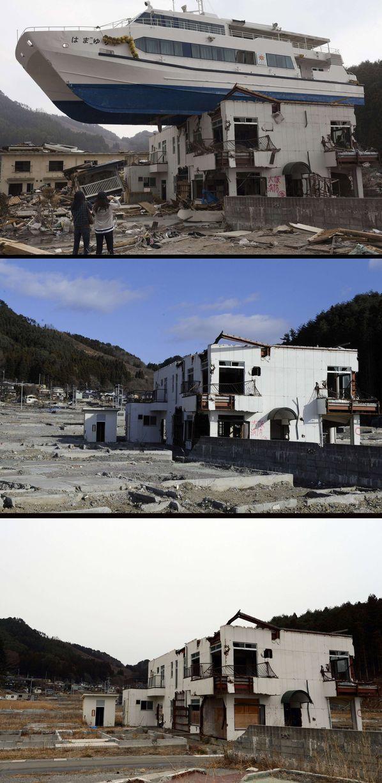 Japan Before and After Tsunami (38 pics)