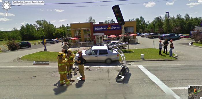 Interesting and Funny Google Street View Images. Part 2 (50 pics)