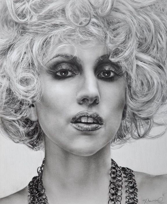 Потрясающие работы художников с помощью обычного карандаша.