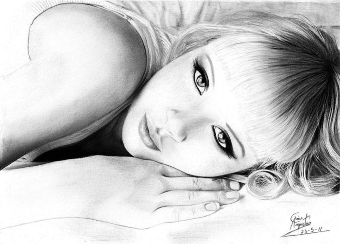 Pencil Drawings (55 pics)